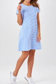Charlie Paige Striped Knit Dress - Product Mini Image