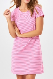 Charlie Paige Striped Knit Dress - Front cropped