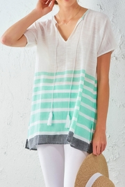 Charlie Paige Striped Tunic - Product Mini Image