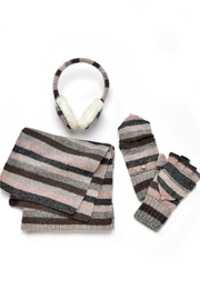 Charlie Paige Striped Winter Set - Front full body