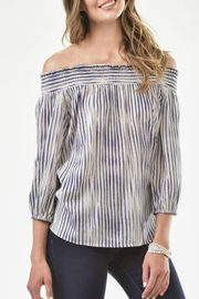 Charlie Paige Tribal Off-Shoulder Blouse - Product Mini Image