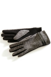 Charlie Paige Tweed Winter Gloves - Front cropped