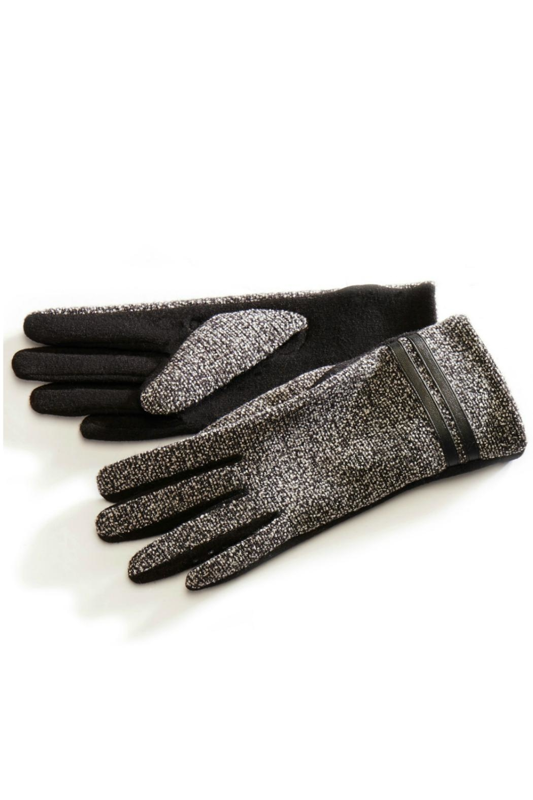 Charlie Paige Tweed Winter Gloves - Main Image