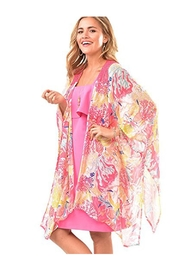 Charlie Paige Watercolor Open Tunic - Product Mini Image
