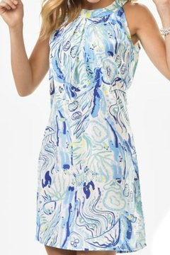Shoptiques Product: Watercolor Print Dress