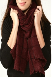 Charlie Paige Window Pane Scarf - Product Mini Image