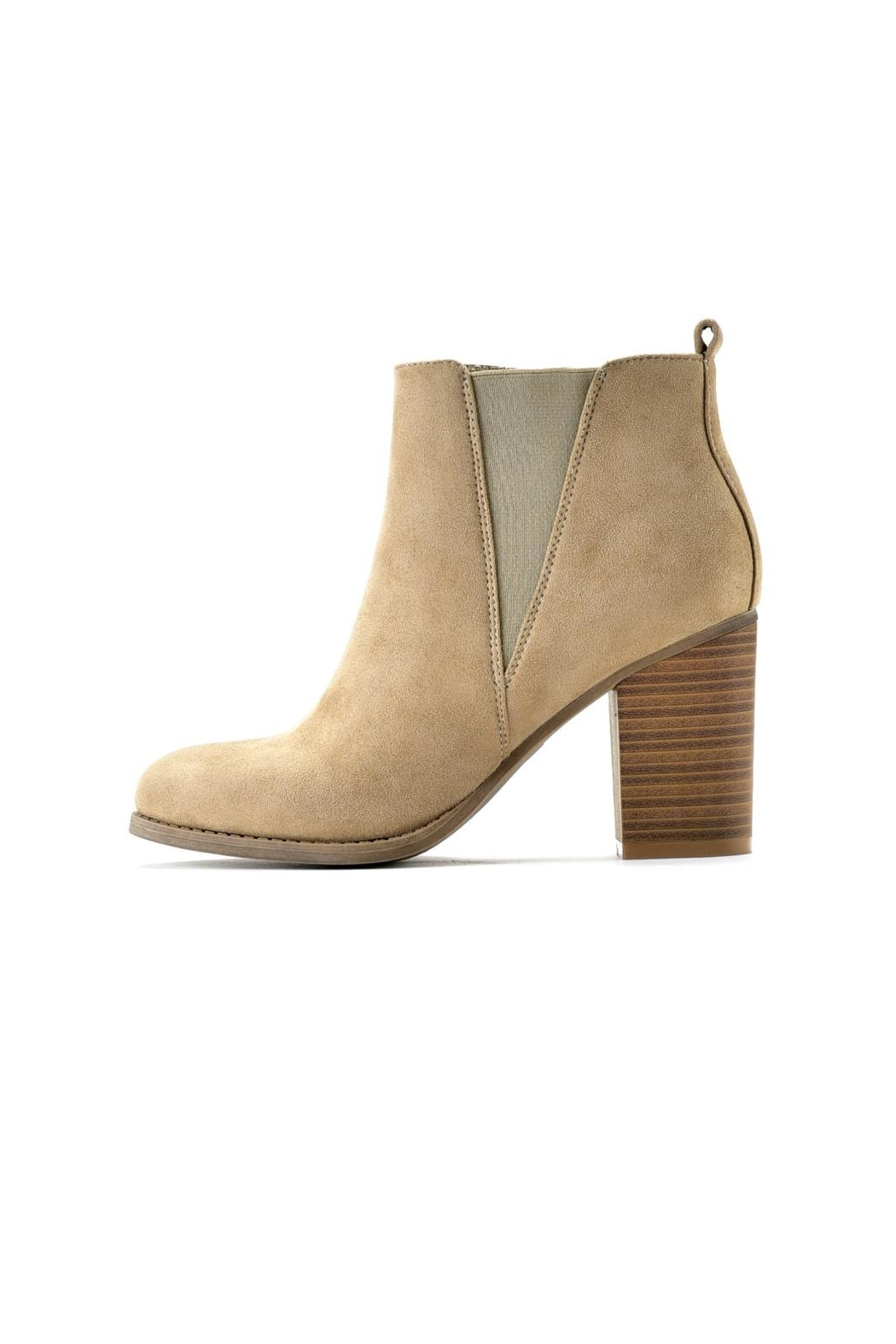 Charlie Paige Zippered Ankle Bootie - Main Image