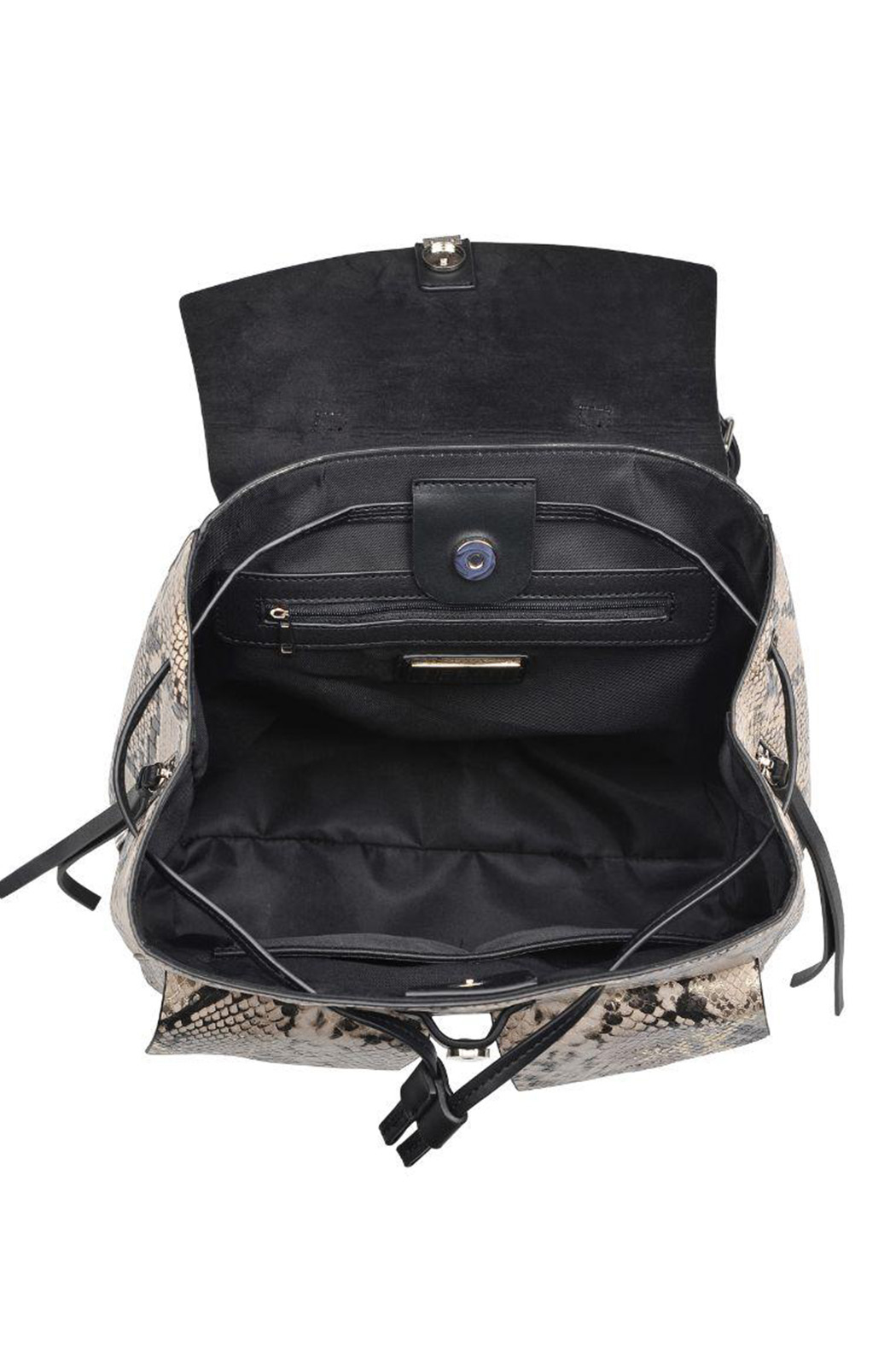 Urban Expressions Charlize Vegan Leather Backpack - Side Cropped Image