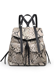 Urban Expressions Charlize Vegan Leather Backpack - Front cropped