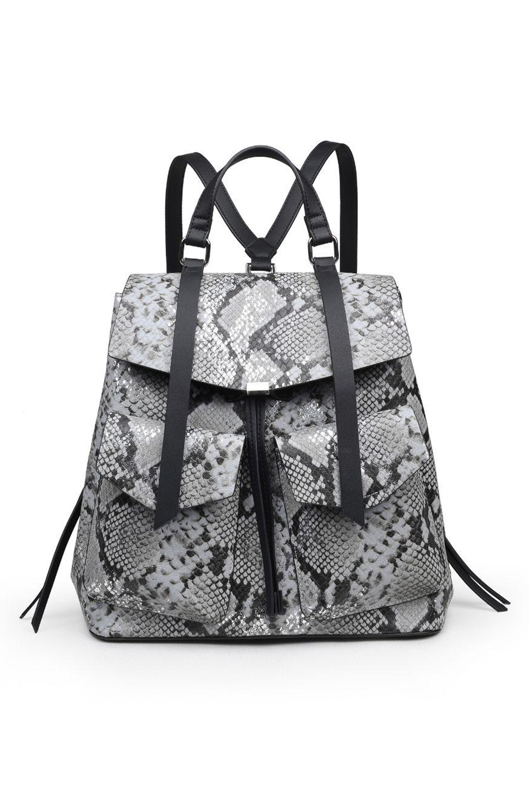 Urban Expressions Charlize Vegan Leather Backpack - Front Cropped Image