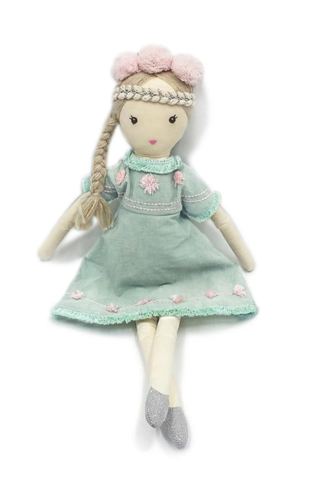 Mon Ami 'Charlotte' Bohemian Princess Doll - Front Cropped Image