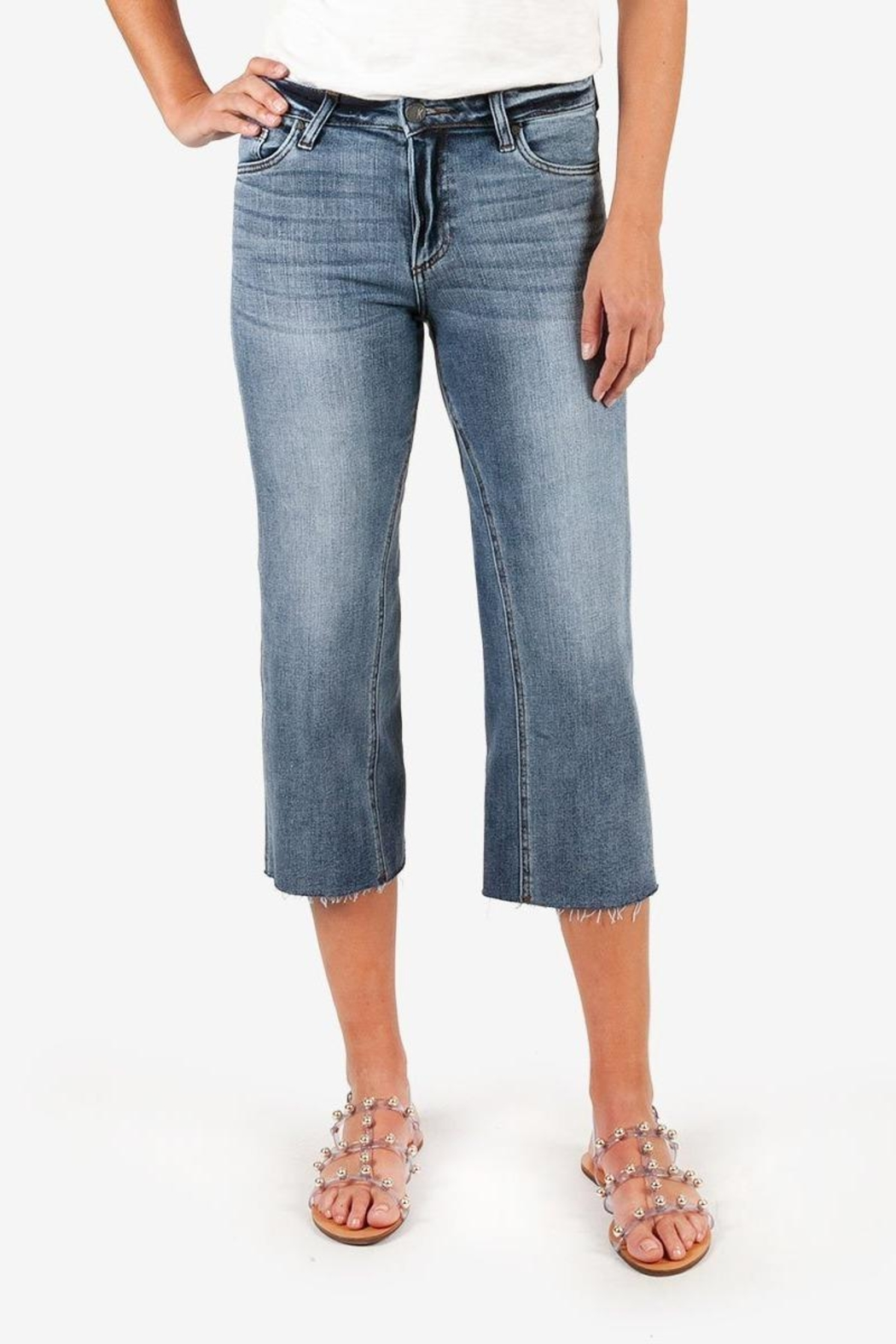 Kut from the Kloth Charlotte Crop Culotte - Main Image