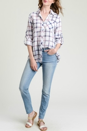 Hem & Thread Charlotte Plaid Top - Product Mini Image