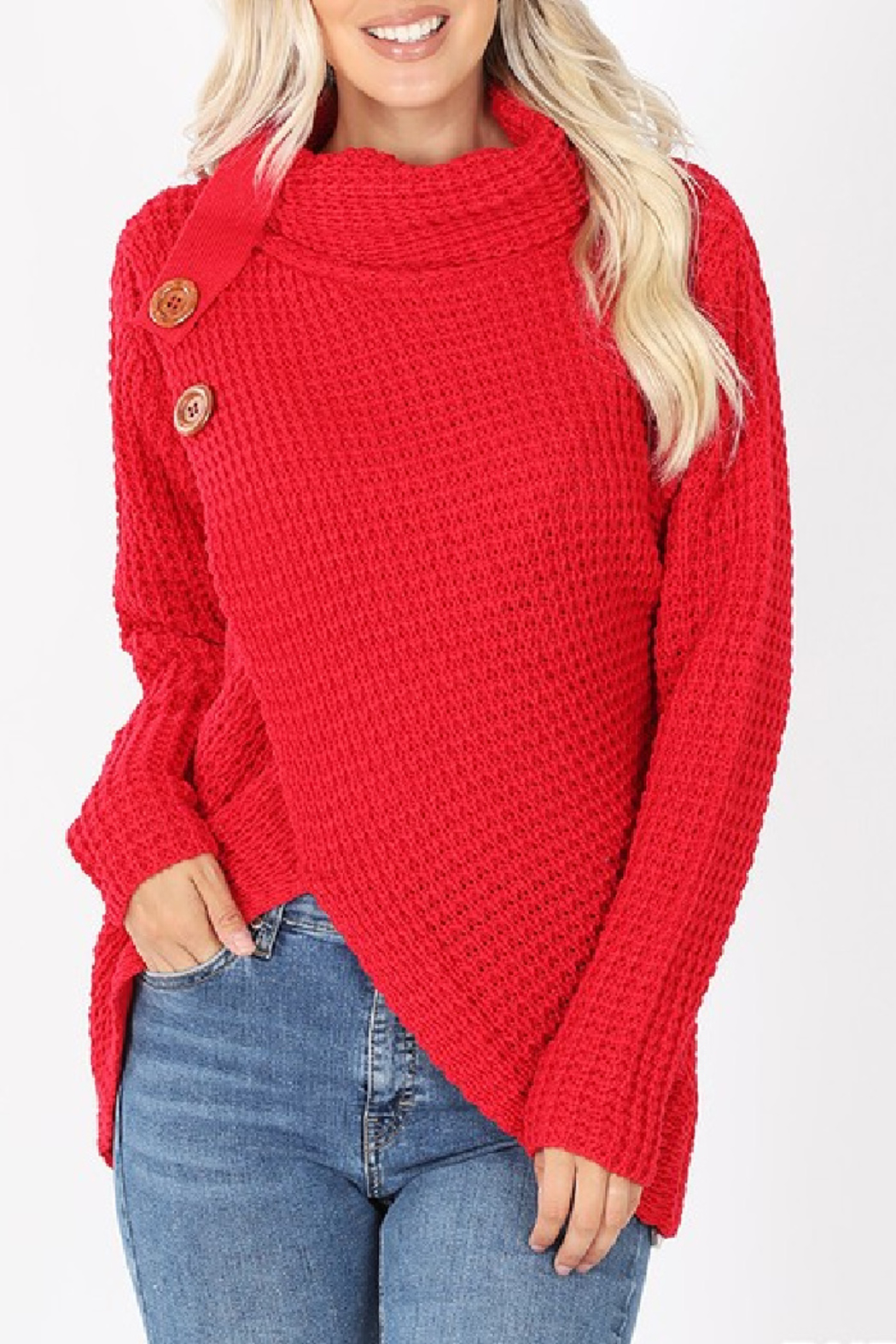 Zenana Charlotte Sweater - Main Image