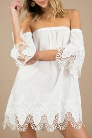 MinkPink Charlotte White Broderie - Product Mini Image