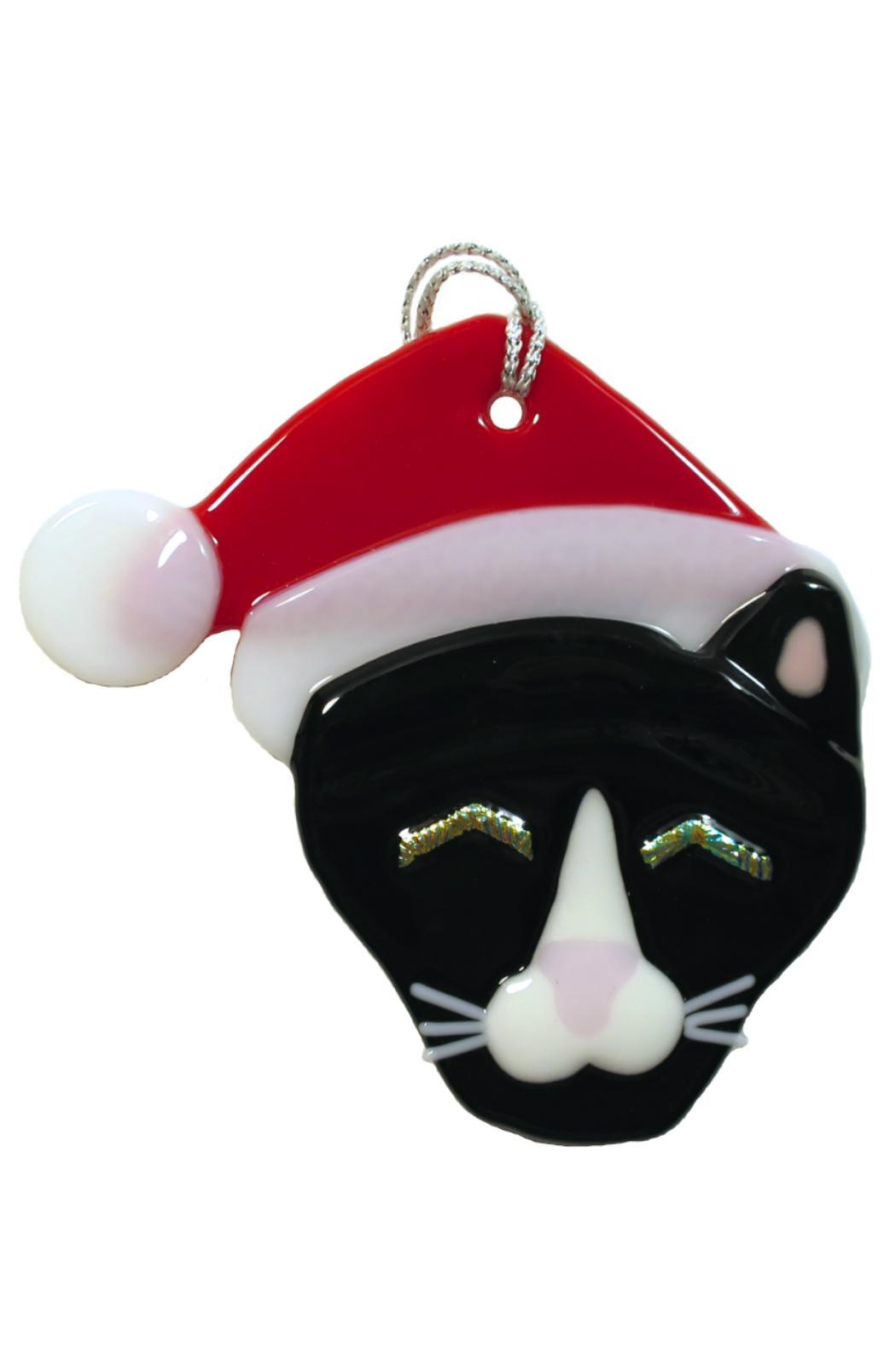 Cat With Glass Eyes Ornament