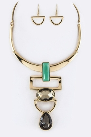 Nadya's Closet Charm Collar Necklace-Set - Product Mini Image