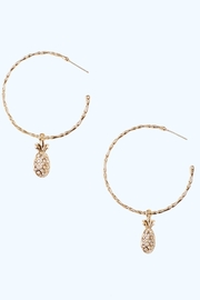 Lilly Pulitzer Charm-Hoop 3-In-1 Earrings - Product Mini Image