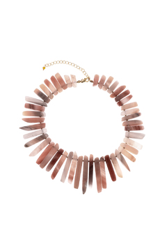 Shoptiques Product: Agate Graduated Necklace