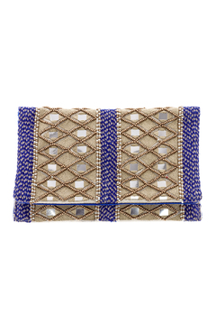 Shoptiques Product: Mirror Beaded Clutch