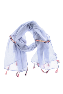 Charmed by JLM Blue Braid Scarf - Product List Image
