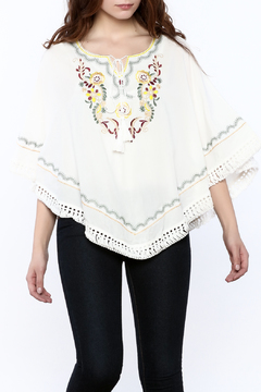 Shoptiques Product: Embroidered Poncho
