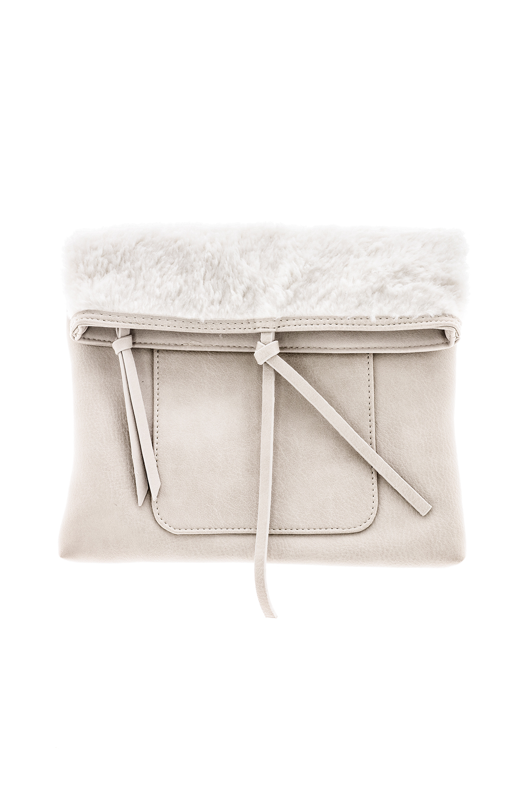 Charmed by JLM Faux Leather Clutch - Main Image