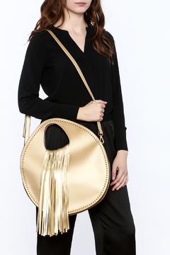 Charmed by JLM Gold Metallic Bag - Alternate List Image