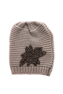 Shoptiques Product: Knit Hat With Crystal