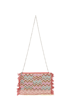 Charmed by JLM Fringe Trim Zip Bag - Product List Image