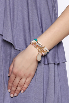 Charmed by JLM Pastel Druzy Bracelet - Alternate List Image