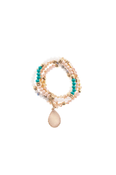 Charmed by JLM Pastel Druzy Bracelet - Product List Image