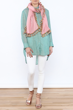 Charmed by JLM Pink Summer Scarf - Product List Image