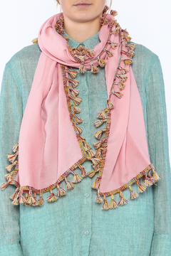 Charmed by JLM Pink Summer Scarf - Alternate List Image