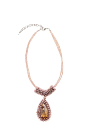 Charmed by JLM Pink Crystal Necklace - Product Mini Image