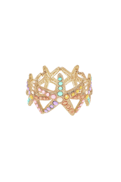 Charmed by JLM Gold Starfish Bracelet - Product List Image