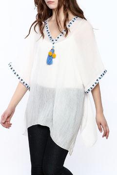 Shoptiques Product: V-Neck Poncho Top
