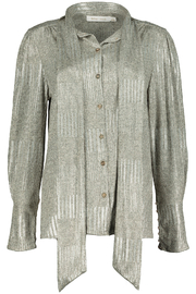 Bishop + Young Charmed Life Tie Neck Blouse - Product Mini Image