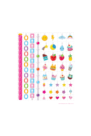 Girl Nation  Charming Chains N Charms Temporary Tattoos - Front full body