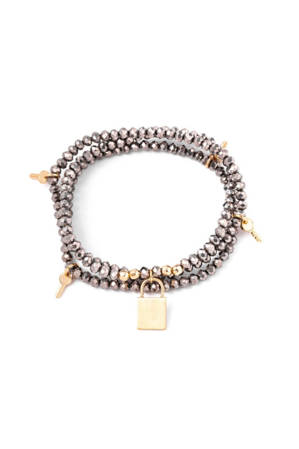 Anarchy Street Charming Faceted Bead Bracelet - Main Image