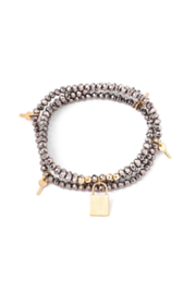 Anarchy Street Charming Faceted Bead Bracelet - Product Mini Image