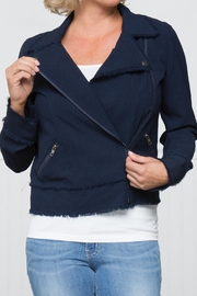 Downeast Basics Charming Moto Jacket - Product Mini Image