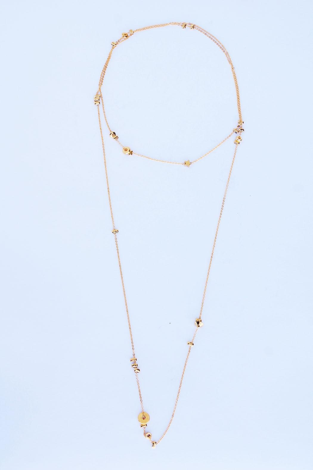 Aioty Charms Necklace Gold - Main Image