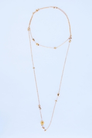 Aioty Charms Necklace Gold - Front cropped