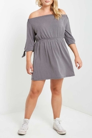 Mai Tai Charwal Off-Shoulder Dress - Front cropped