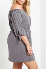 Mai Tai Charwal Off-Shoulder Dress - Side cropped
