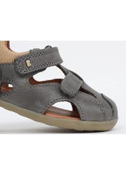 Bobux Chase Charcoal Sandal - Front full body
