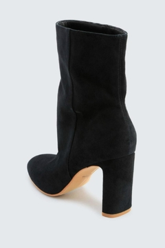 Dolce Vita Chase Suede Booties - Alternate List Image