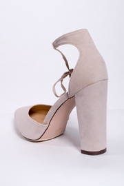 Chase & Chloe Ankle Tie Pump - Back cropped