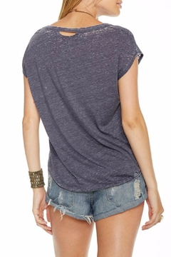 Chaser Gray Gold Printed Top - Alternate List Image